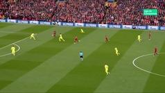 Gol de Origi (1-0) en el Liverpool 4-0 Barcelona