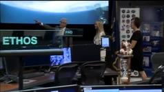 Ivanka Trump acude a la NASA para hablar con la ISS y termina sonrojándose