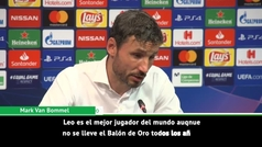 """Van Bommel: """"Messi es el mejor del mundo aunque no se lleve el Balón de Oro"""""""