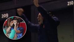 Así de efusivo celebró Bale la clasificación del Tottenham: igualito que en el Madrid...
