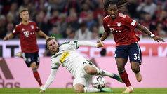 Bundesliga (J7): Resumen y goles del Bayern Munich 0-3 Borussia Monchengladbach