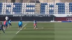 El Madrid comienza a preparar la visita del Girona sin Isco ni Varane