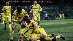 Europa League (1/16, ida): Resumen y gol del Sporting de Portugal 0-1 Villarreal
