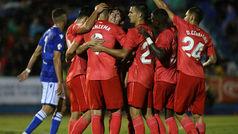 Copa del Rey (1/16, ida): Resumen y goles del Melilla 0-4 Real Madrid
