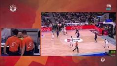 ¿Antideportiva o falta normal? La polémica llega a la final de la ACB