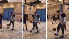 Doncic vuelve a dar una clase de fútbol en el entrenamiento de los Mavericks
