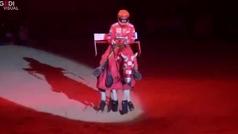 La hija amazona de Michael Schumacher recuerda a su padre en una competición