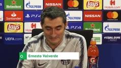 """Valverde: """"Lo de Dembélé incluso me ha pasado a mí, pero no muchas veces"""""""