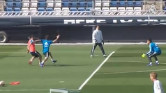 El Real Madrid prepara el encuentro del próximo domingo contra el Levante