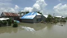 Bangladesh se enfrenta a las peores inundaciones monzónicas en dos décadas