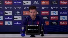 """Simeone: """"Es normal que Suárez tome su tiempo para ponerse de la mejor forma"""""""