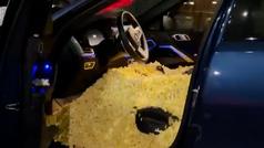 Castigo a un novato de la NBA: su coche lleno de palomitas