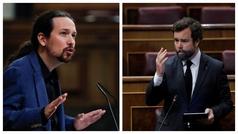 """Nueva bronca de Pablo Iglesias, esta vez con Espinosa de los Monteros: """"Cierre al salir, señoría"""""""