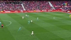 Gol de Munir (3-0) en el Sevilla 5-0 Rayo Vallecano