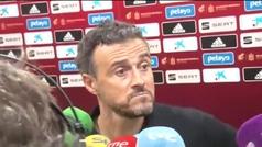 """Luis Enrique: """"Estoy satisfecho con lo que he visto de España en la Liga de las Naciones"""""""