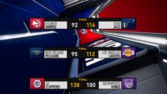 Lo mejor de la noche NBA con el brillo de Doncic, Antetokounmpo y LeBron
