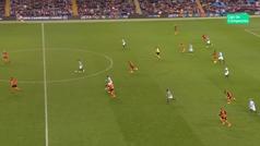 Gol de Mahrez (5-0) en el Manchester City 6-0 Shakthar