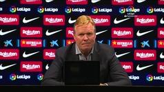 """Koeman: """"Hemos demostrado que no somos inferiores al Real Madrid"""""""