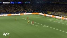 Gol de Alberto Moreno (1-3) en el Young Boys 1-4 Villarreal