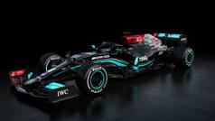 Mercedes da un nuevo giro con el W12, un coche que parece nuevo por completo