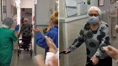 """Cesc celebra la recuperción de su bisabuela ingresa por coronavirus: """"¡Qué bonito verla así!"""""""