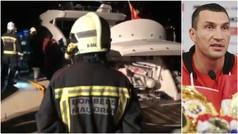 Klitschko, rescatado del mar tras incendiarse su yate en aguas mallorquinas