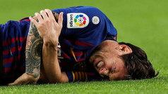 Así fue la caída de Messi en la que se fracturó el radio
