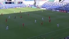 Así fue el gol de Dani Olmo... tras el jugadón de Carlos Soler