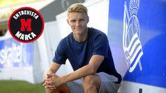 """Odegaard: """"Mi meta es triunfar en la Real y jugar algún día en el Madrid"""""""