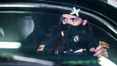 Cristina Gutiérrez, la sensación en el estreno de la Extreme E