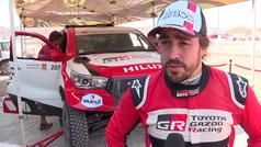 Asi vio Alonso su estreno en el Ula-Neom Rally