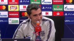"""Ernesto Valverde: """"Lo de Dembélé incluso me ha pasado a mí, pero no muchas veces"""""""