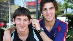 """El día que Messi pudo irse al Arsenal con Cesc: """"Estuvo tentado"""""""