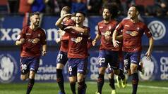 LaLiga 123 (J14): Resumen y goles del Osasuna 2-0 Tenerife