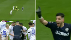 Así fue la roja directa de Kiko Casilla con el Leeds