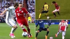 La genialidad de la UEFA: junta en un vídeo los mejores caños de la historia de la Champions