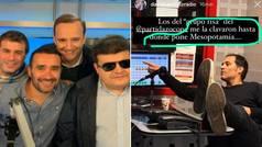 """La genial broma telefónica del 'grupo risa' a David Sánchez con la tienda Apple: """"Me la clavaron has"""