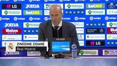 """Zidane: """"El Real Madrid no tiene límite"""""""