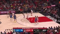 Triples, asistencias, canastas imposibles... el recital que hizo MVP a Stephen Curry