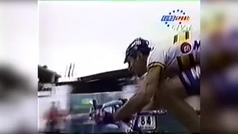 2º Olano, campeón con la rueda pinchada