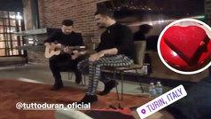 Actuación de Tutto Durán en la fiesta privada de Cristiano Ronaldo por San Valentín