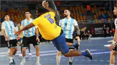 Gauthier Mvumbi, el viral pivote de Congo de 110 kilos en el Mundial de balonmano