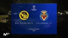 Champions League (Jornada 3): Resumen y goles del Young Boys 1-4 Villarreal