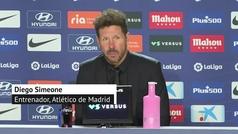 Simeone analiza la victoria del Atlético: ?Los cambios mejoraron al equipo?
