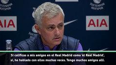 """Mourinho: """"Florentino me quiere y yo le quiero, somos amigos"""""""