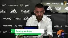 """De Rossi deja Boca y se retira del fútbol: """"Tengo que volver a mi casa, extraño a mi familia"""""""