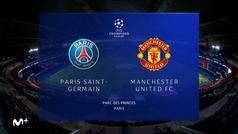Champions League (J1): Resumen y goles del PSG 1-2 Manchester United