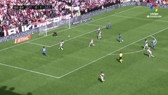 Jornada 9. Goles Rayo (1-2) Getafe, 0-2