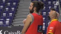 Pau Gasol entrena con Garuba para que el rookie aprenda los trucos de un veterano