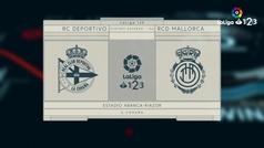 LaLiga 1|2|3 (playoff, ida de la final): Resumen y goles del Deportivo 2-0 Mallorca